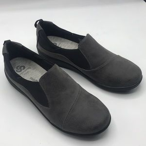 Clark's Gray Cloudsteppers Loafer 8